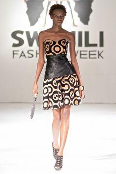 Swahili Fashion Week Spring/Summer 2013 [Day 1] : Rose Fashion Designer   Haute Fashion Africa