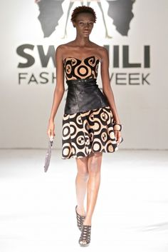 Swahili Fashion Week Spring/Summer 2013 [Day 1] : Rose Fashion Designer | Haute Fashion Africa