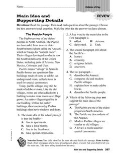 Worksheets 6th Grade Main Idea Worksheets pinterest the worlds catalog of ideas main idea and supporting details 3rd 5th grade worksheet lesson planet