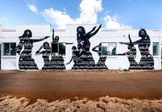 Usugrow - Hawaii - 2016 #PowWowHawaii #StreetArt #Mural