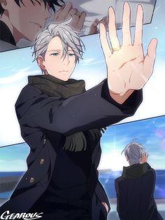 on Ice, Victor Nikiforov, Yuri / Yuri on ice LOG - pixiv Anime Boys, Manga Anime, Fanarts Anime, Anime Characters, Love On Ice, Yuri!!! On Ice, Katsuki Yuri, Yuuri Katsuki, Yuri Plisetsky