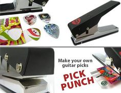 Guitar Pick Maker - Givetu