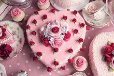 торт с сердечком из роз для девочки: 14 тыс изображений найдено в Яндекс.Картинках