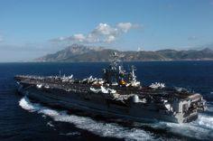 USS Harry S. Truman off Gibraltar