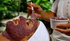 Treatment at your open air bungalow....