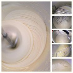 Lick The Spoon: Pipeable White Chocolate Ganache (add vanilla bean)