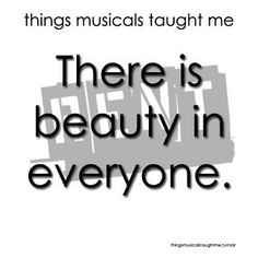 """From """"Rent"""" (things musicals taught me)"""
