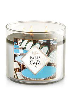 Paris Café 3-Wick Candle - Bath And Body Works