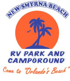 New Smyrna Beach RV Park and Campground  ~ a hidden little gem!!  Near the ocean, Flagler Ave, and only 5 minutes to south Daytona