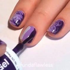 regardez cette vido instagram de fabulouslytrendy 166 k mentions jaime design ideasfinger nailsnail - Nail Design Ideas Easy