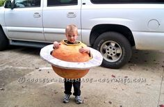 Great Saturn Boy Homemade Halloween Costume... This website is the Pinterest of costumes