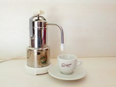 """Vintage Italian electric Coffee maker """"Baby Express"""" by Stella, made in Italy end of '60s, collectibles for kitchen"""