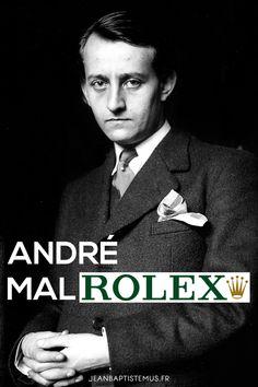 Ecriv1 - André Malraux x Rolex - #ecrivain #auteur #litterature #livre #lecture #mashup #humour #marque #toulon #graphisme
