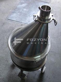 Paslanmaz Çelik Ürün Yükleme Hunileri   Füzyon Makina