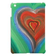 A Heart Rainbow of Love iPad Mini Cases