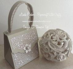 Handbag Gift Box Tutorial Linda Parker - Papercraft With Crafty http://www.papercraftwithcrafty.co.uk/2016/05/pretty-little-handbag-gift-box.html