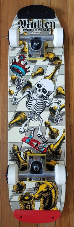 Powell Peralta Rodney Mullen Chess Complete Freestyle Skateboard
