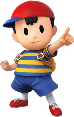 Ness as he appears in Super Smash Bros. for Nintendo / Wii U. Super Smash Bros Brawl, Wii U, Mario Wii, Mario Bros, Nintendo 3ds, Character Concept, Character Design, Boy Character, Avengers
