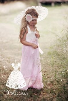 Dollcake Clothing Spring 2012 Runaway Bride Frock2T & 3T Only
