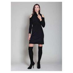 dotluxury on FashionTap: Find your inner fierceness. #luxury #luxuryfashion #dress #fierce #blackdress #dotluxury #sharktank                                         (1) Waffle Dress by Carmen Basilique, via Excellence Shop  (2) Discover our luxury community