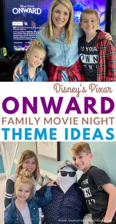 DIsney's Pixar Onward Family Movie Night Theme Ideas. Onward food ideas, Onward activities for kids, Onward crafts for movie night and even what to wear while watching Onward on Disney Plus! Being at home doesn't have to be boring - make a themed night out of it and your kids will always remember the family fun time together! #onward #familymovienight #movieactivities #disneymovietheme #disneymovies #pixarmovienight #onwardtheme Disney Plus, Disney Love, Disney Theme, Disney Pixar, Movie Party Foods, Family Movie Night, Movie Themes, Disney Activities, Family Activities