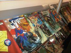 panorama di fumetti storici alla fiera del fumetto