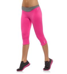 "Reebok Women's Pink Ribbon Capri Tights | Official Reebok Store . . #PinItPink With @Reebok Pinterest Contest  ""Pin It Pink with Reebok & Women's Health"" ""I'm pinning for a chance to win a $100 Reebok gift card"""