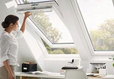 Strešna okna naredijo iz vaše mansarde prav posebno stanovanje