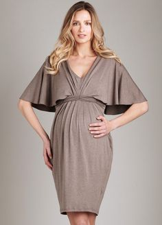 Maternal America - Heather Braided Back Dress. Shop for maternity dresses online at QueenBee