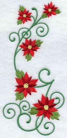 Correo: servicios san andres - Outlook Crewel Embroidery, Vintage Embroidery, Flower Embroidery, Embroidery Kits, Broderie Simple, Free Machine Embroidery Designs, Christmas Embroidery, Embroidery Techniques, Color Change