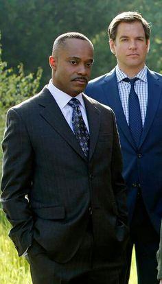 "NCIS Season 10 Episode 24 - ""Damned If You Do"" ~ Director Leon Vance and Tony DiNozzo"