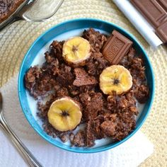 chocolate banana bak