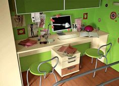 Green Paint Colors, Cheerful Ideas for Painting Kids Rooms