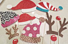 DIY: Santa's Photobooth Christmas Cards | Project Nursery @IC Residential Life we should do this at the holiday banquet!