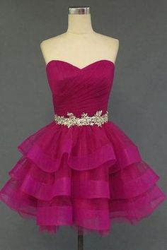 Charming Mini Short Prom Dress Party Dress,Organza Homecoming Dress,Sweetheart Homecoming Dress, Short Noble Cocktail Dress from Wedding store Simple Homecoming Dresses, Prom Dresses 2018, Prom Party Dresses, Party Gowns, Dress Party, Wedding Dresses, Gowns 2017, Bandage Dresses, Dresses 2016
