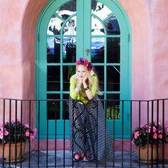 Flower girl - Copyright Carla Coulson