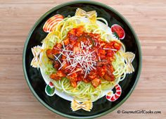 "Gourmet Girl Cooks: Sunday Night's ""Pasta"" Dinner - Low Carb"