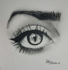 Realistic drawing by Paty Oliveira Vampire Eyes, Realistic Drawings, Photo And Video, Instagram