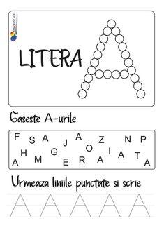 Homework Sheet, Busy Book, Preschool Crafts, Activities For Kids, Kindergarten, Letters, Aba, Activities, Teaching Letters