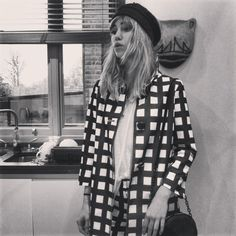 If it was the 1960's Suki Waterhouse was be a phenomenon. Sometimes she gives if Edie Sedgwick vibes.