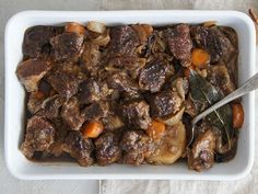 This is a hearty meal, great for the man in your life or just on a cold winters day.