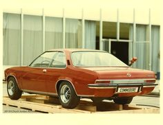 Opel Commodore Coupe design model directed by Opel design director Chuck Jordan.