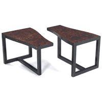 Kittinger oildrop finish side tables from the 1950s