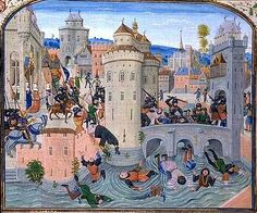 A look at Froissart's Chronicles. ~S  http://www.medievalists.net/2014/07/22/image-city-peace-war-burgundian-manuscript-jean-froissarts-chronicles/  #HndredYearsWar #Medieval
