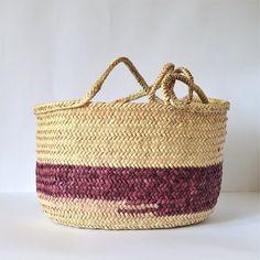 Handbag – Straw Bag, straw basket, Summer beach bag – a unique product by Omar-Handmade on DaWanda Wicker Couch, Wicker Trunk, Wicker Headboard, Wicker Mirror, Wicker Shelf, Wicker Bedroom, Wicker Table, Wicker Furniture, Wicker Baskets