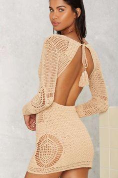 Crochet Skirts Flook the Label Alexis Crochet Cover-Up - Clothes Crotchet Dress, Crochet Beach Dress, Crochet Summer Dresses, Crochet Romper, Black Crochet Dress, Crochet Skirts, Crochet Clothes, Diy Clothes, Crochet Cover Up