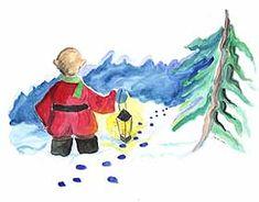 Tonttu etsii lakkiaan Christmas Things, Painting, Painting Art, Paintings, Painted Canvas, Drawings