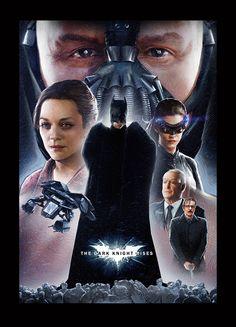 The Dark Knight Rises Poster by alexanderstojanov.deviantart.com on @deviantART