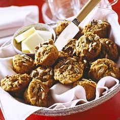 Carrot-Zucchini muffins: Sneak your veggies in with heart-healthy whole wheat mini muffins.