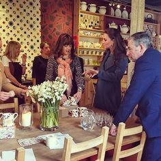 Grávida do segundo filho, mulher do príncipe William marcou presença em evento na quarta-feira (18)